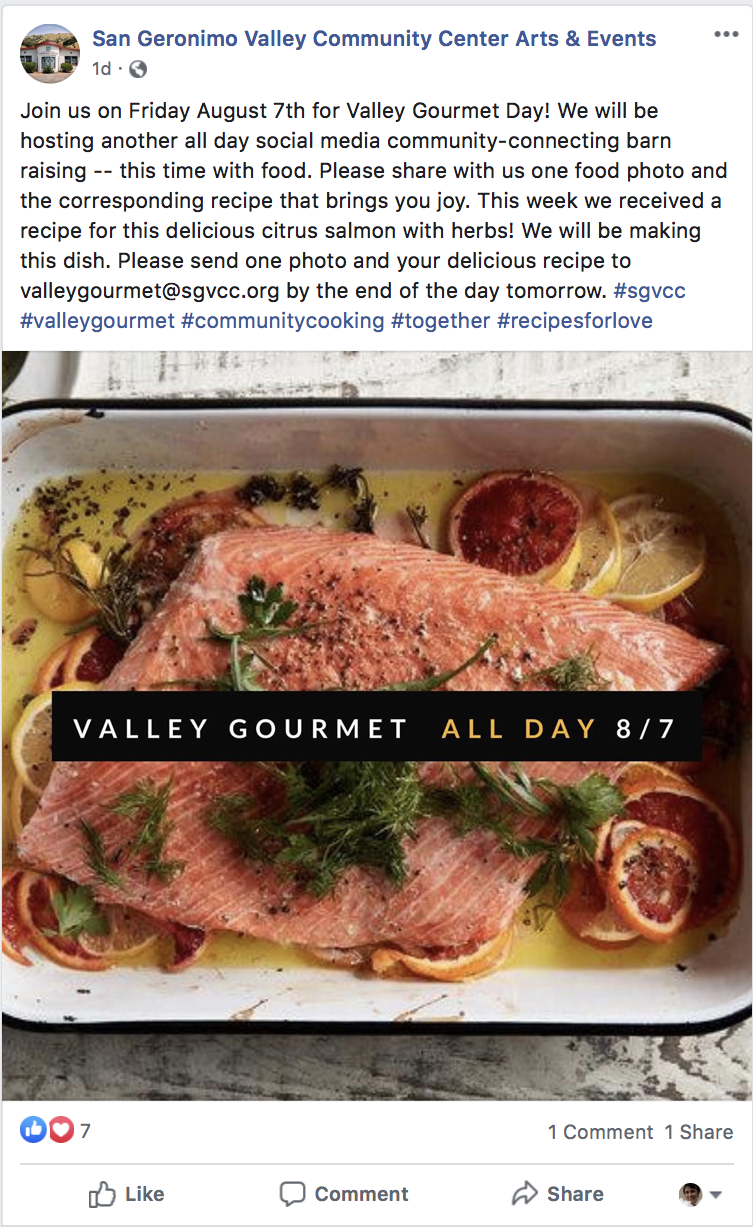 Valley Gourmet Day